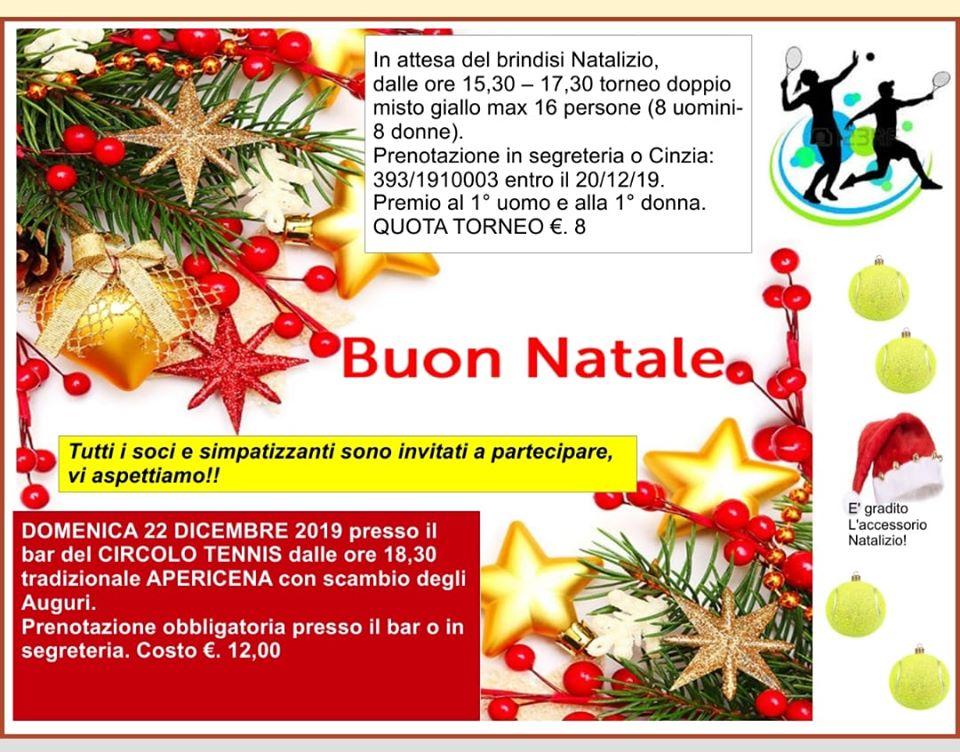 Scambio Auguri Di Natale.Auguri Di Natale 2019 Circolo Tennis Marino Casalboni